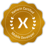 Xamarin Certified Mobile Developer Badge-ashtewari